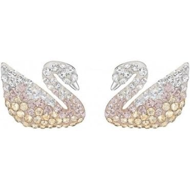 Iconic Swan Pierced Earrings