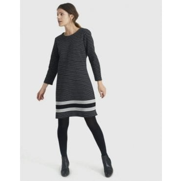 Marie Textured Ottoman Dress