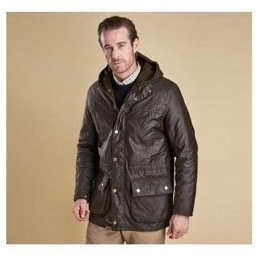 Winter Durham Olive Wax Jacket MWX0724OL71