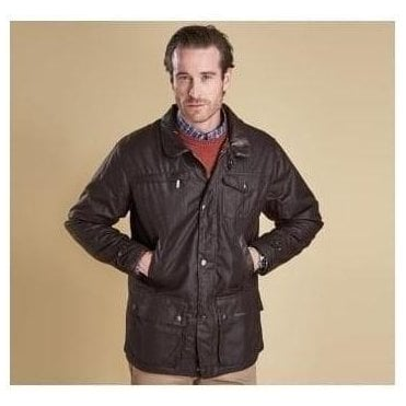 Bushman Brown Waxed Jacket MWX0725BR71