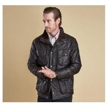 Rustic Winter Utility Wax Jacket MWX0903RU91
