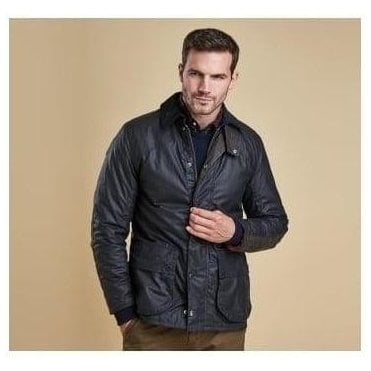 Navy Digby Wax Jacket MWX0893NY92