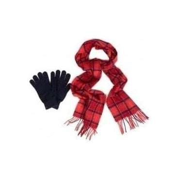 Scarf and Glove Gift Box MAC0042