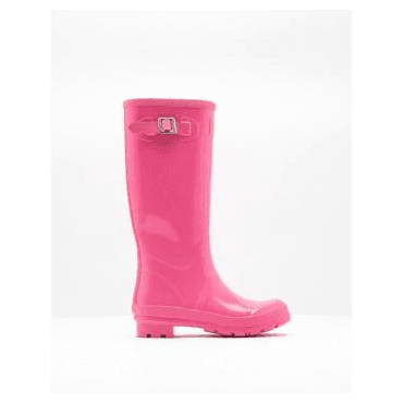 Glossy Field Wellies