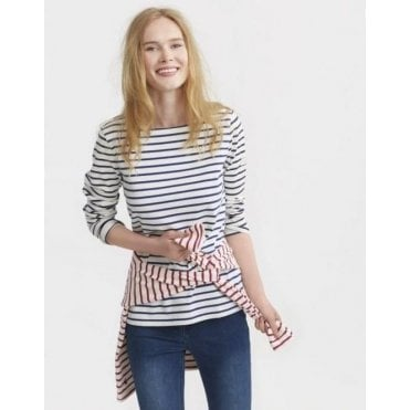 Harbour Long Sleeve Jersey Striped Top