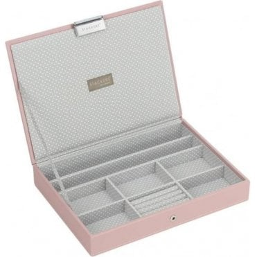 Soft Pink Classic Lidded Stacker 70085