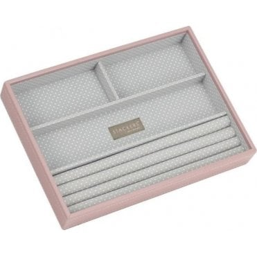 Soft Pink Classic 4 Section Stacker 70087