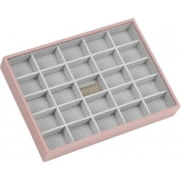 Soft Pink Classic 25 Section Stacker 70088