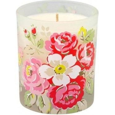 Single Wick Boxed Glass Candle Forest Bunch White 616874