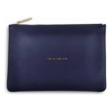 One In A Million Perfect Pouch in Navy