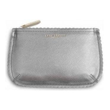 The Beauty Bag in Silver