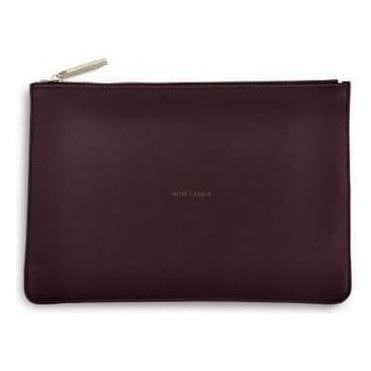 Arm Candy Perfect Pouch in Burgundy
