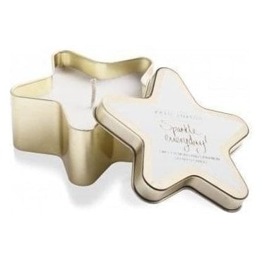 Everyday Gold Star Candle in Sweet Almond And Cinnamon