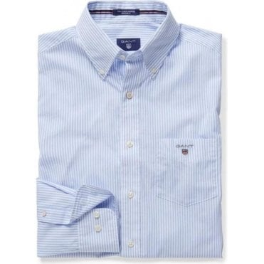 Men's Broadcloth Banker Regular Shirt