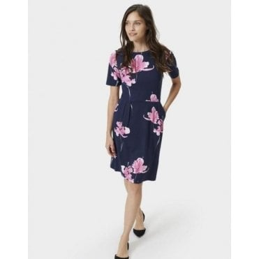 Beth Stretch Pleat Dress