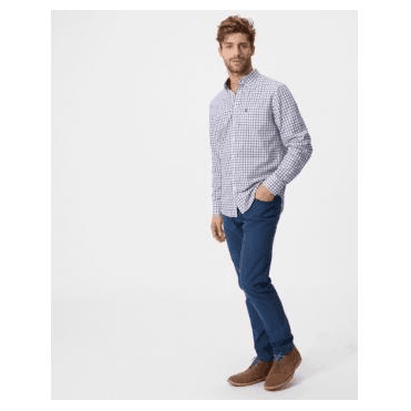 Hensley Poplin Slim Fit Poplin Shirt