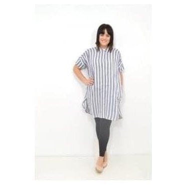 Iga Cuff Sleeved Straight Blouse