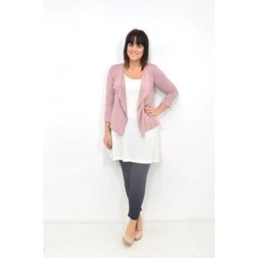 Ilani ¾ Sleeved Fitted Cardigan