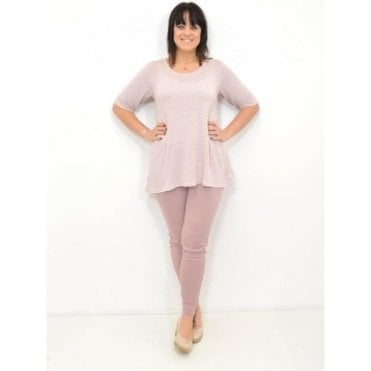 Devil A-Shaped ½ Sleeved Top