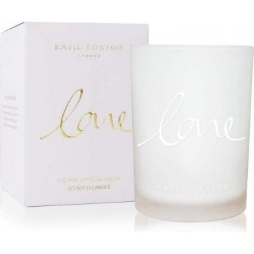Love Fig And Apple Blossom Candle