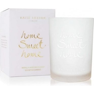 Home Sweet Home Vanilla And Wild Daisy Candle