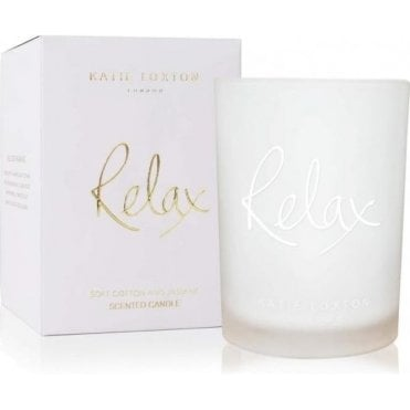 Relax Soft Cotton And Jasmine Candle