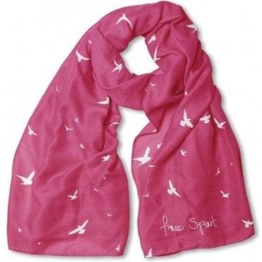 Free Spirit Bright Fuchsia Pink Scarf 0b485ea41d67
