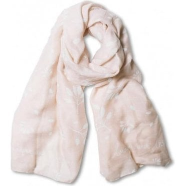 Imagine And Inspire Scarf in Pale Pink