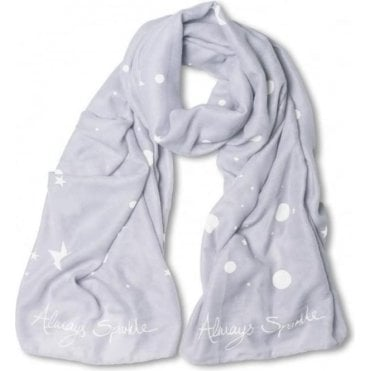 Always Sparkle Scarf in Lilac