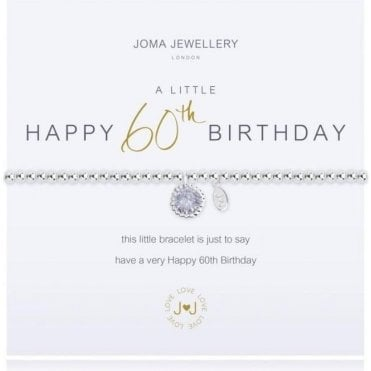 A Little 60Th Birthday - Silver Bracelet