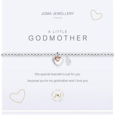 A Little Godmother - Silver And Rosegold Bracelet
