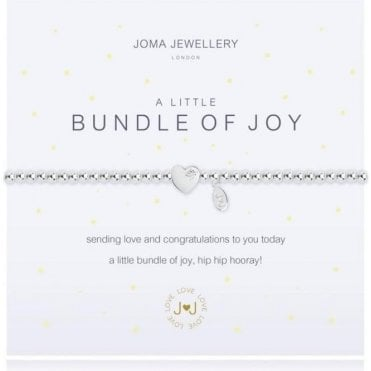 A Little Bundle Of Joy - Silver Bracelet