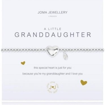A Little Granddaughter - Silver Bracelet