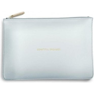 Beautiful Dreamer Perfect Pouch in Powder Blue