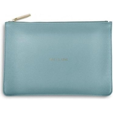 Mine All Mine Perfect Pouch in Teal