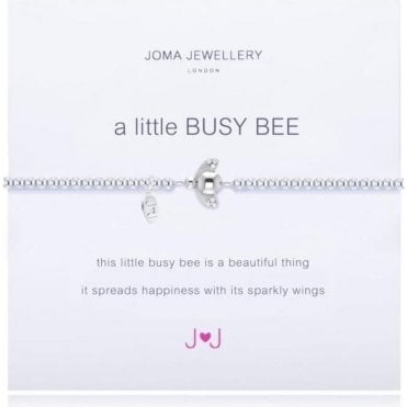 A Little Busy Bee - Silver Bracelet