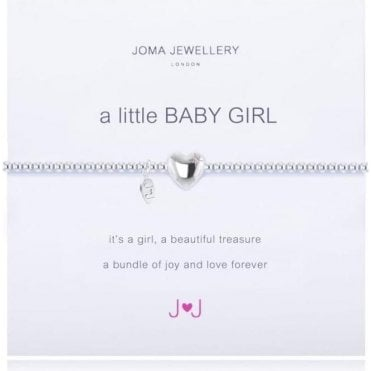 A Little Baby Girl - Silver Bracelet
