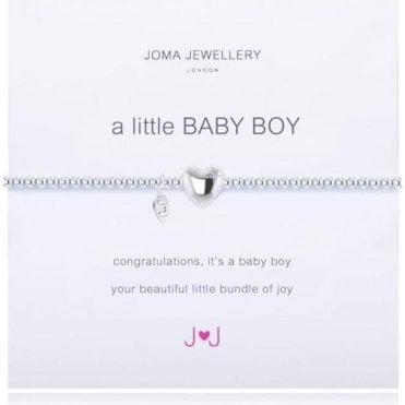 A Little Baby Boy - Silver Bracelet