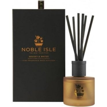 Whisky & Water Fine Fragrance Reed Diffuser