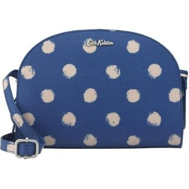 Crescent Crossbody Smudge Spot Marine