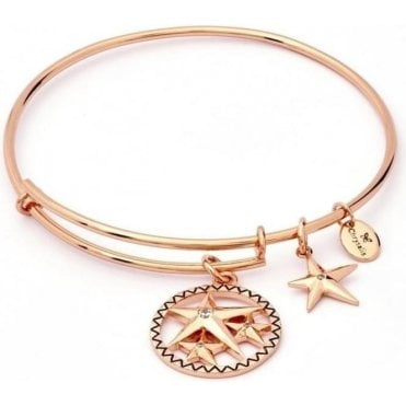 Charmed Luck Star Expandable Bangle