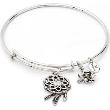 Charmed Dream Catcher Expandable Bangle