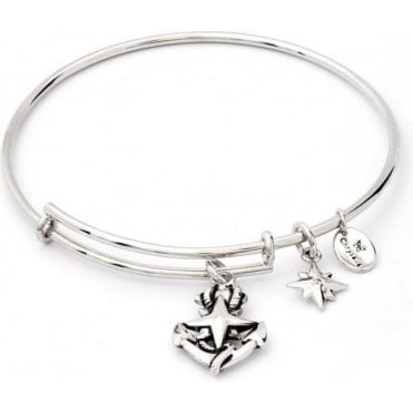 Charmed North Star Expandable Bangle
