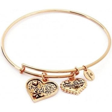 Thinking Of You Mother Daughter Expandable Bangle