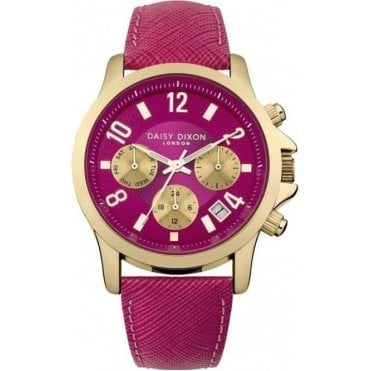 Daisy Dixon Ladies Adriana Pink Watch