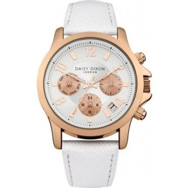 Daisy Dixon Adriana White Watch