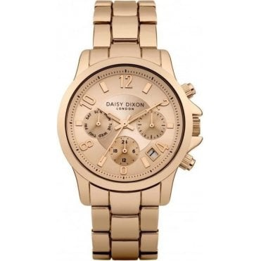 Cara Multi Dial Rose Gold Bracelet Watch