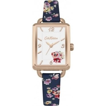 Mallory Bunch Navy Strap Watch