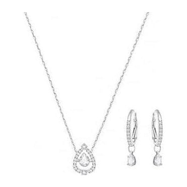 Sparkling Dance Pear Silver Set