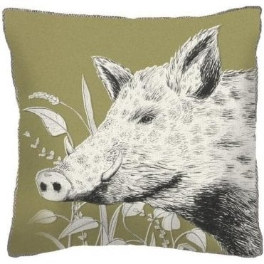 Wild Boar Cushion AH17003